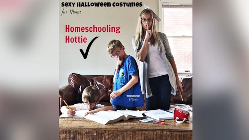 Hilarious 'Sexy Mom' Costume Photo Series Pokes Fun at Risque Halloween Outfits