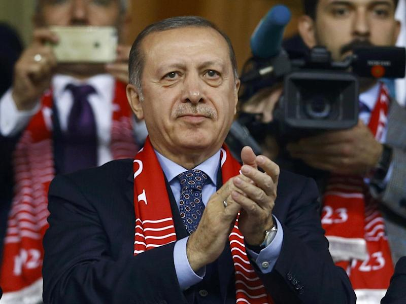 President Recep Tayyip Erdogan has moved away from the West following the attempted coup (Reuters)