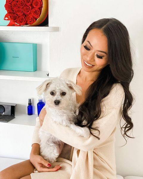"""<p>Businesswoman and dog mom Kelly Mi Li has a pretty standard influencer's Instagram, with lots of travel photos and lots of highly posed imagery—but she gets bonus points for frequently featuring Kilo and newly adopted sister Sophia.</p><p><a href=""""https://www.instagram.com/p/CJthOL5A_hQ/?utm_source=ig_embed&utm_campaign=loading"""" rel=""""nofollow noopener"""" target=""""_blank"""" data-ylk=""""slk:See the original post on Instagram"""" class=""""link rapid-noclick-resp"""">See the original post on Instagram</a></p>"""