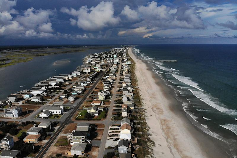 Preparing for Florence: Shoring up, stocking up, evacuating coast