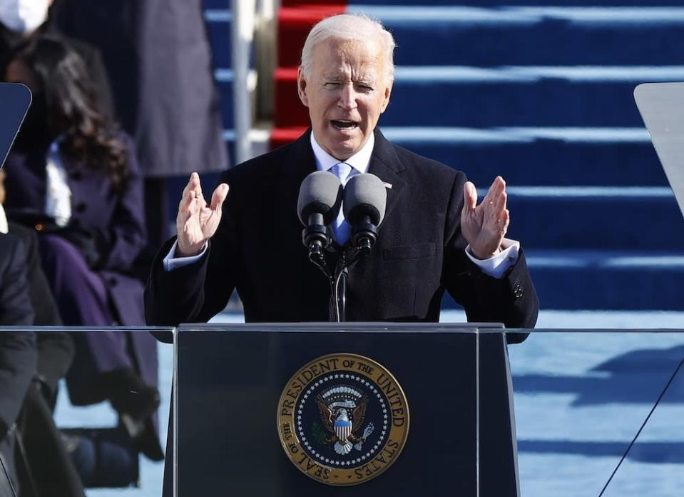 Lim said those in power should take a page out of Biden's book and take heed of his inauguration speech where he said he would lead by example, without personal interests but for the good of the public. — Reuters pic