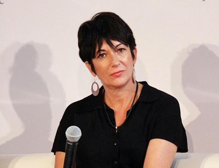 Ghislaine Maxwell, pictured in 2003, faces a lengthy jail sentence if found guilty on charges linked to Jeffrey Epstein's sex crimes (AFP Photo/Laura Cavanaugh)