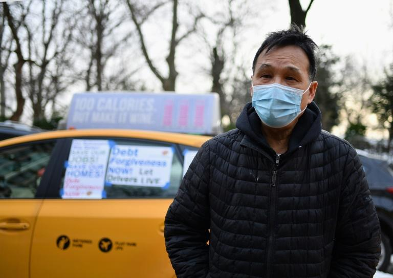 Richard Chow, a 62-year-old yellow cab driver whose younger brother, also a driver and heavily in debt, committed suicide in 2018