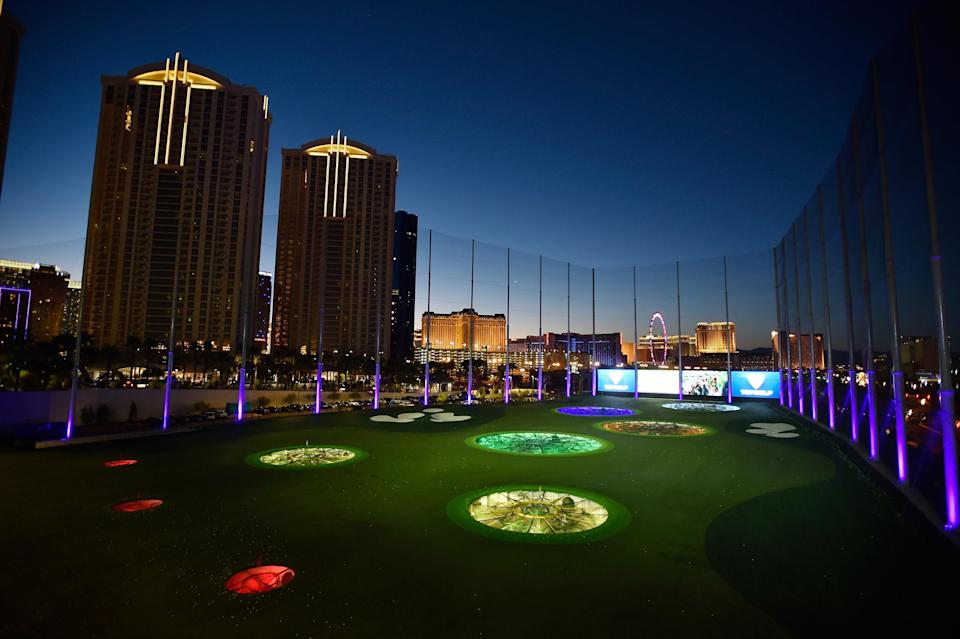 "<p><strong>Let's start big picture here.</strong><br> Only in Vegas does a massive, sprawling entertainment complex with multiple bars, a high-tech driving range, and a lounge with games count as parkland. TopGolf even has a pool on the third floor of its flagship location, complete with a 28-food HD video wall, bars, cabanas, and access to the hitting bays. The good news is that it's as interactive (or not) as you make it. Golf, hang out, come here for dinner, or just lounge around with your friends.</p> <p><strong>What's the must-see here?</strong> Golfers shouldn't miss the 120 climate-controlled hitting bays (key in the Vegas heat). But that's hardly the only thing going on. Events like <a href=""https://www.cntraveler.com/activities/las-vegas/t-mobile-arena?mbid=synd_yahoo_rss"" rel=""nofollow noopener"" target=""_blank"" data-ylk=""slk:Las Vegas Golden Knights"" class=""link rapid-noclick-resp"">Las Vegas Golden Knights</a> viewing parties—on a 48-foot-high screen, mind you—are fun for non-golfers, too.</p> <p><strong>Was it easy to get around?</strong><br> It's easy to find a spot to relax here; after all, they're all over. But with a Callaway fitting studio, five bars, two pools, VIP cabanas, and a 900-person concert and nightlife venue, the complex can feel overwhelming. The best policy is just to embrace the chaos.</p> <p><strong>How can we make sure we're spending our time wisely?</strong><br> Planners will want to thoroughly orchestrate how they're going to use this space, since there's a lot to do. If you're less concerned about getting in your golf time, just cruise around and have fun. Dedicated golfers should call ahead and reserve bays; the reservation fee lets you skip the line.</p>"