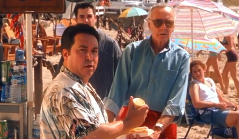 Marvel legend Stan Lee made his first appearance in a major Marvel movie in 'X-Men' (Photo: 20th Century Fox/YouTube)