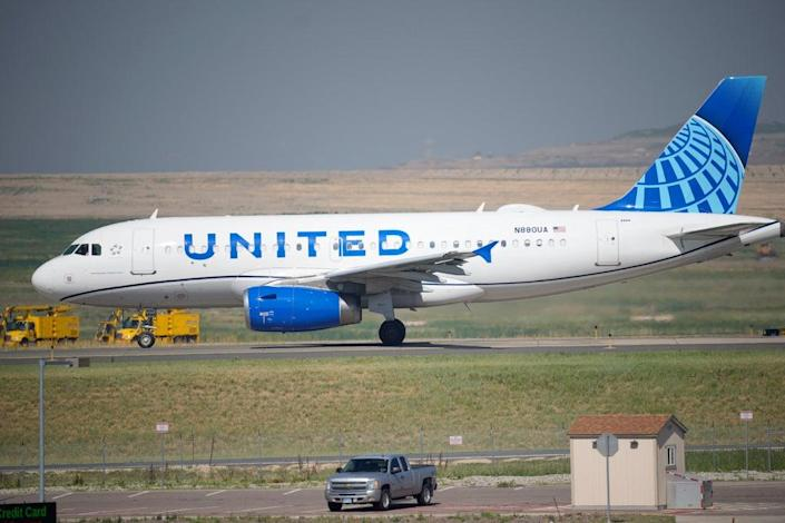 United Airlines  (Copyright 2021 The Associated Press. All rights reserved.)