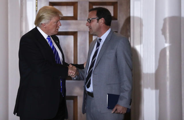 """Todd Ricketts, one of the owners of the <a class=""""link rapid-noclick-resp"""" href=""""/mlb/teams/chc/"""" data-ylk=""""slk:Chicago Cubs"""">Chicago Cubs</a>, was named finance chair of the Republican National Committee on Wednesday. (AP)"""