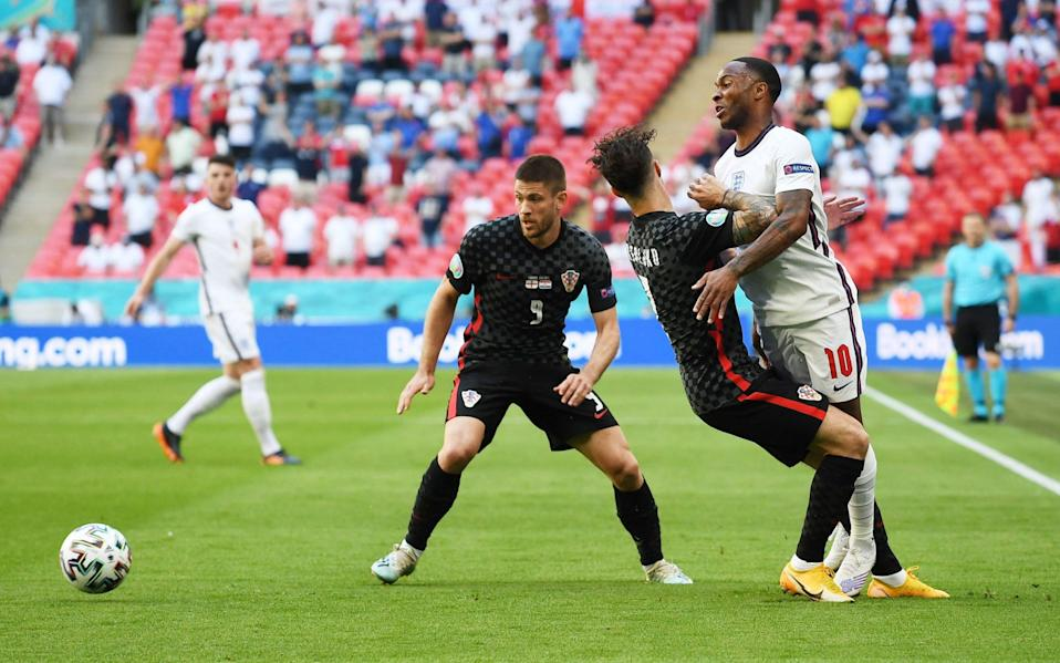 Croatia find a way to keep Sterling quiet - Reuters
