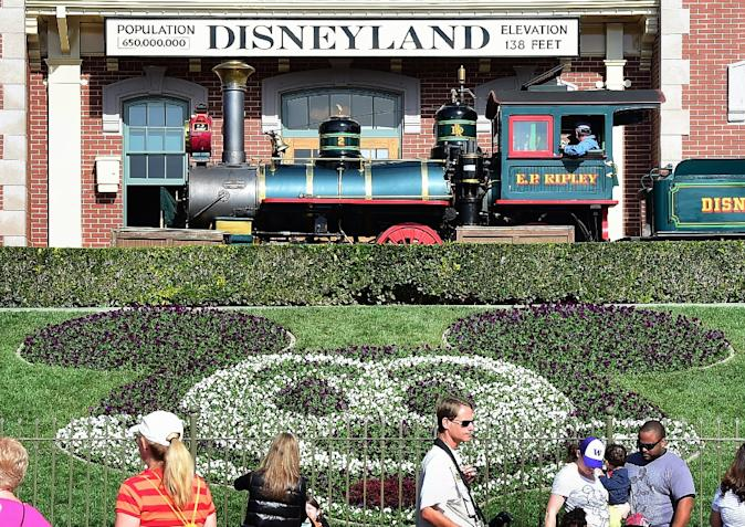 The recent measles outbreak in California began at a Disney theme park, and researchers have said it was able to spread because not enough children were being vaccinated (AFP Photo/Frederic J. Brown)