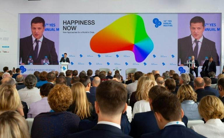 Zelensky told the conference that work was under way to prepare a new prisoner swap with Russia