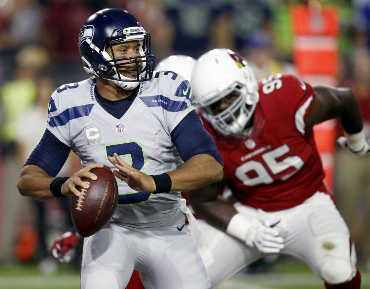 Russell Wilson is coming off a poor game against Arizona (AP)