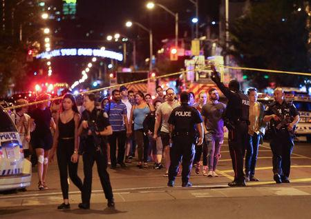 Toronto shooting: Faisal Hussain named as suspect in Greektown attack
