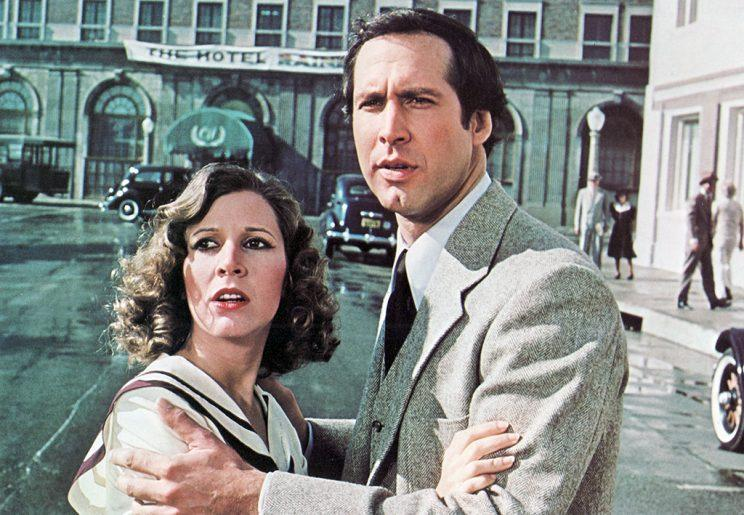 <p>Another perhaps underrated and forgotten role, alongside Chevy Chase in 1981. (Photo: Everett Collection)</p>
