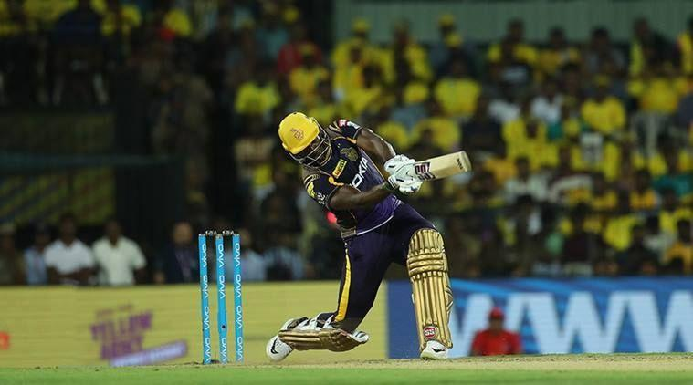 Chepauk was witness to an Andre Russell blitzkrieg