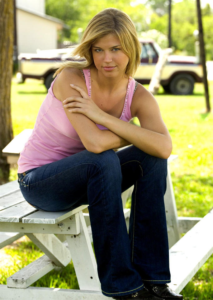 """<a href=""""/adrianne-palicki/contributor/1232344"""">Adrianne Palicki</a> stars as Tyra Collette in <a href=""""/friday-night-lights/show/38958"""">Friday Night Lights</a> on NBC."""