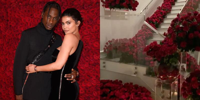 Kylie and Roses