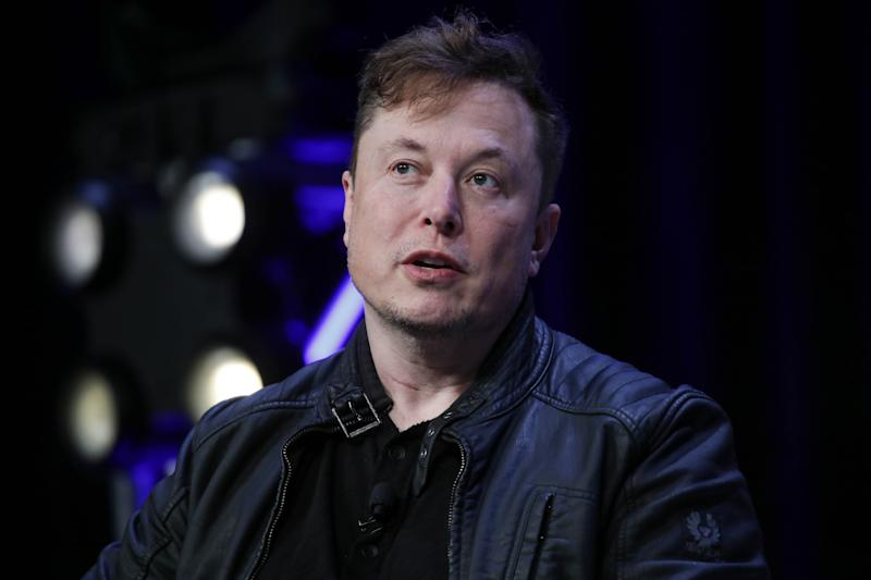WASHINGTON DC, USA - MARCH 9: Elon Musk, Founder and Chief Engineer of SpaceX, speaks during the Satellite 2020 Conference in Washington, DC, United States on March 9, 2020. (Photo by Yasin Ozturk/Anadolu Agency via Getty Images)
