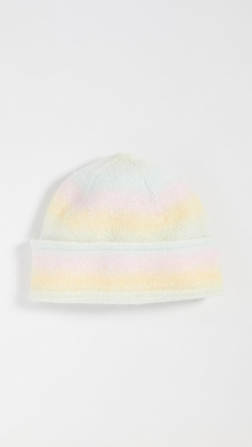 <p>This colorful <span>Olivia Rubin Fi Hat</span> ($80) is so unique.</p>