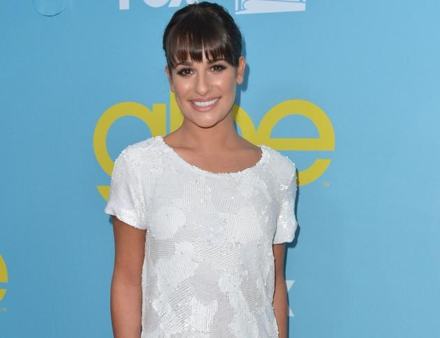 Lea Michele steps out in style at The Academy of Television Arts & Sciences' screening of Fox's 'Glee' in North Hollywood, Calif. on May 1, 2012 -- Getty Images