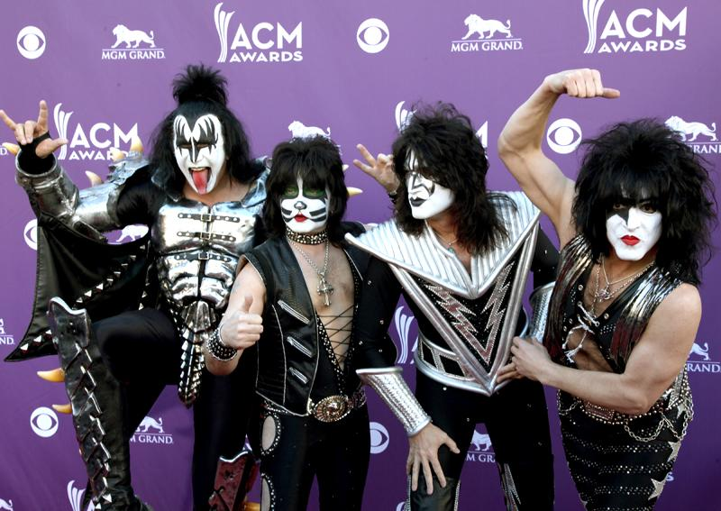 KISS, Live from the RAM Red Carpet, 47th Annual ACM Awards, Las Vegas, NV