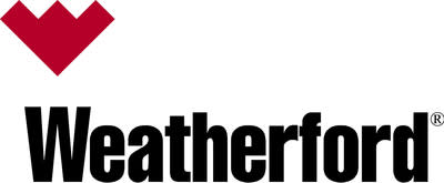 Weatherford logo.