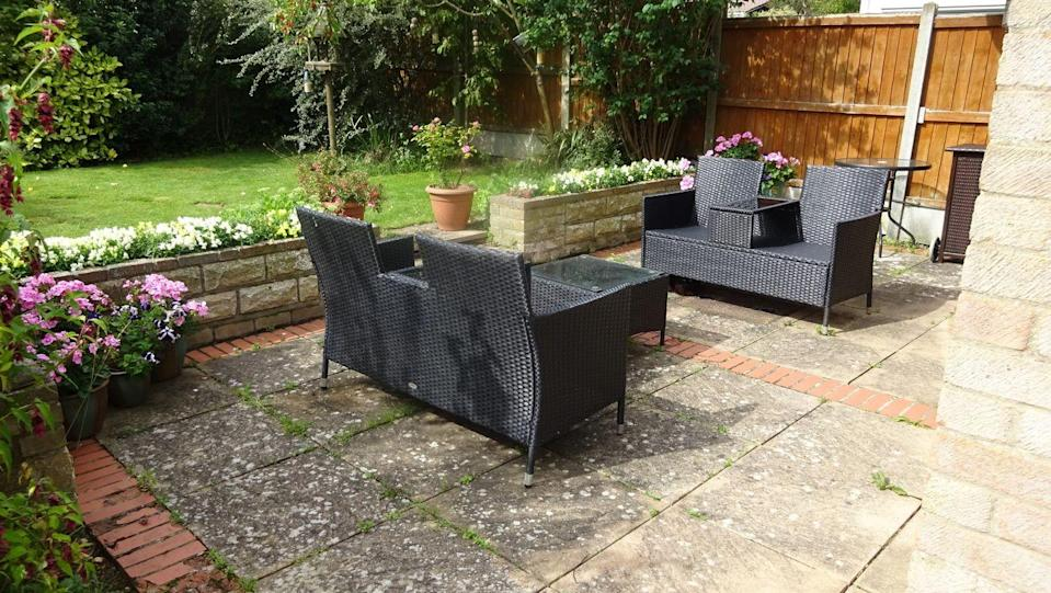 <p>'We have always wanted to transform our patio, and it's only taken six years for us to become motivated, save the money and gird our loins for the mess which was to come!'</p>