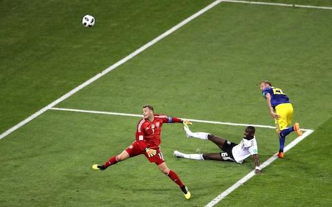 neuer lobbed - Credit: GETTY IMAGES