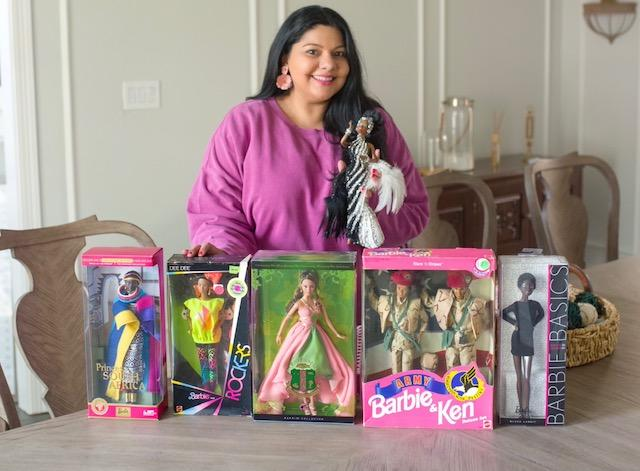 Sara Ahmed found over 100 Barbie dolls in her new home later finding out she is living in what once was the Black Like Me Doll Museum. (Photo: Yash Singh)