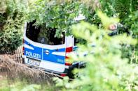 Police began searching the site in the early hours of Tuesday morning