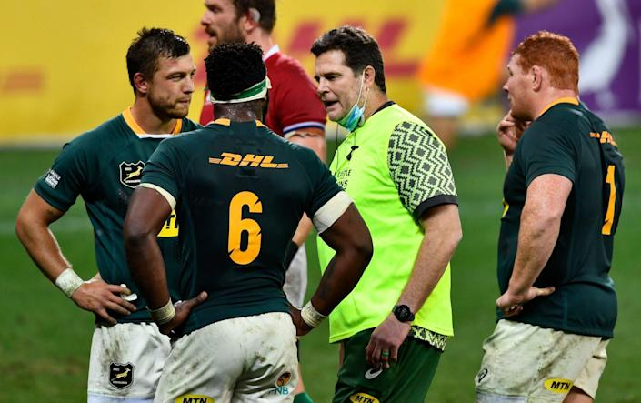 The world's most controversial water boy - Rassie Erasmus - GETTY IMAGES