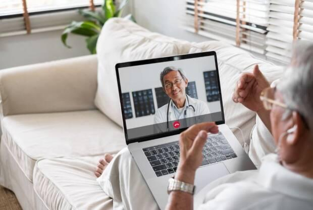 While she anticipates virtual medical care will be utilized less as people gradually return to in-person consultations, Doctors of B.C. president-elect Dr. Ramneek Dosanjh believes remote appointments still have a big role to play in health care. (Shutterstock/Nattakorn Maneerat - image credit)