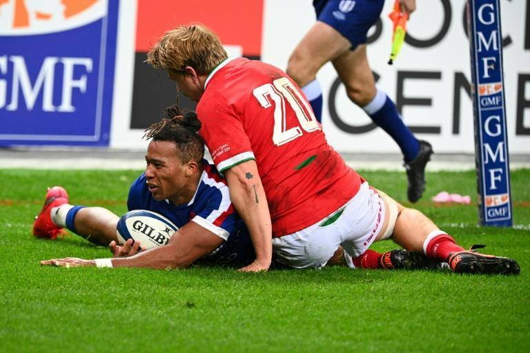 Teddy Thomas scored his 12th try in 20 Tests last Saturday