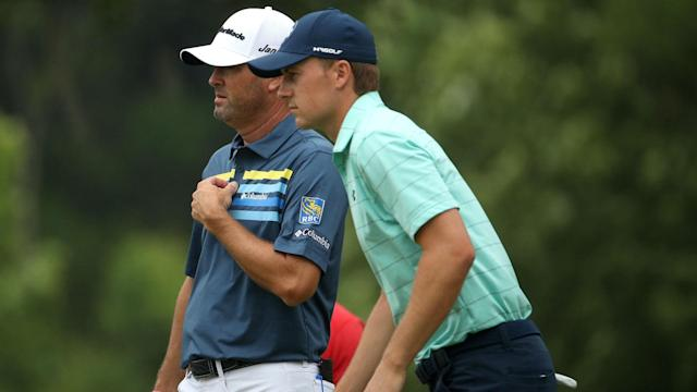 Spieth and Palmer are partners for this week's Zurich Classic.