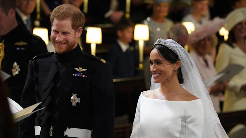 Fit for a Royal! Meghan Markle Wears Stunning Givenchy Gown on ...
