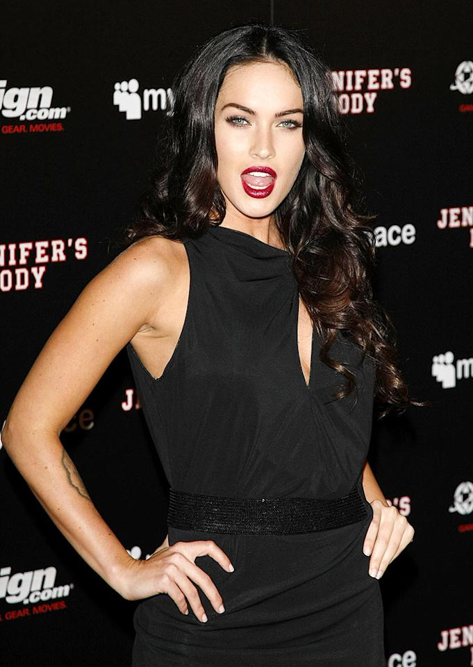 """A number of sites were buzzing that Megan Fox had the chance to replace Angelina Jolie as Lara Croft in the next """"Tomb Raider"""" film -- and turned it down! Sources say the reason for the snub is that Fox """"hates being compared"""" to Jolie. Log onto <a href=""""http://www.gossipcop.com/rumored-megan-fox-rejection-of-tomb-raider-wrong/"""" target=""""new"""">Gossip Cop</a> to see if these sources were sly with their Fox facts. Jean Baptiste Lacroix/<a href=""""http://www.wireimage.com"""" target=""""new"""">WireImage.com</a> - July 23, 2009"""