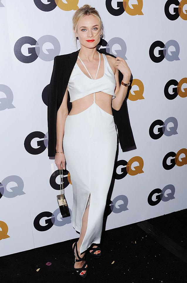 LOS ANGELES, CA - NOVEMBER 13:  Actress Diane Kruger arrives at GQ Men Of The Year Party at Chateau Marmont on November 13, 2012 in Los Angeles, California.  (Photo by Jon Kopaloff/FilmMagic)