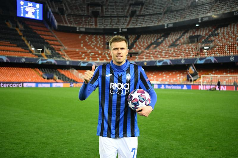Atalanta striker Josip Ilicic is set to be absent against PSG for personal reasons (Getty Images)