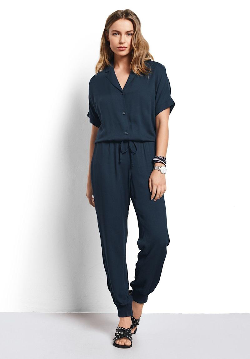 "Get it on <a href=""https://www.hush-uk.com/womenswear/daywear/jumpsuits_playsuits/s_s_jumpsuit_blueberry.htm"" target=""_blank"">Hush for $107</a>."