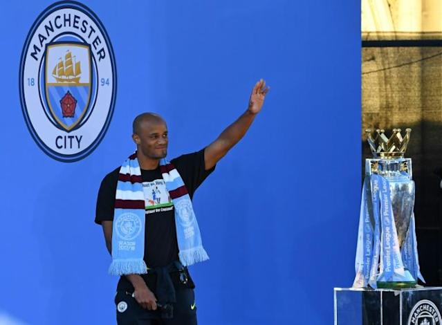 Vincent Kompany will not be fit to take part in his own Manchester City testimonial on Wednesday (AFP Photo/Paul ELLIS)