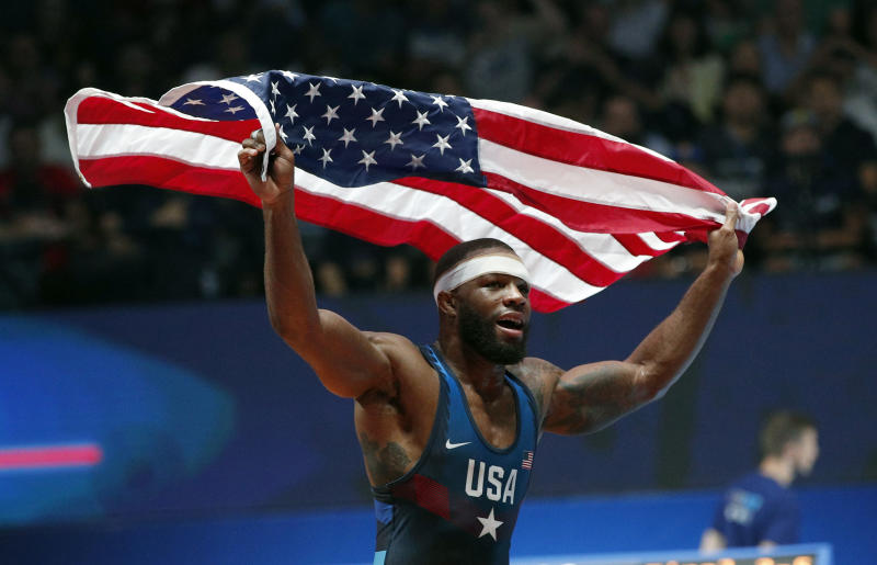 US wrestling star Burroughs planning to compete until 2024