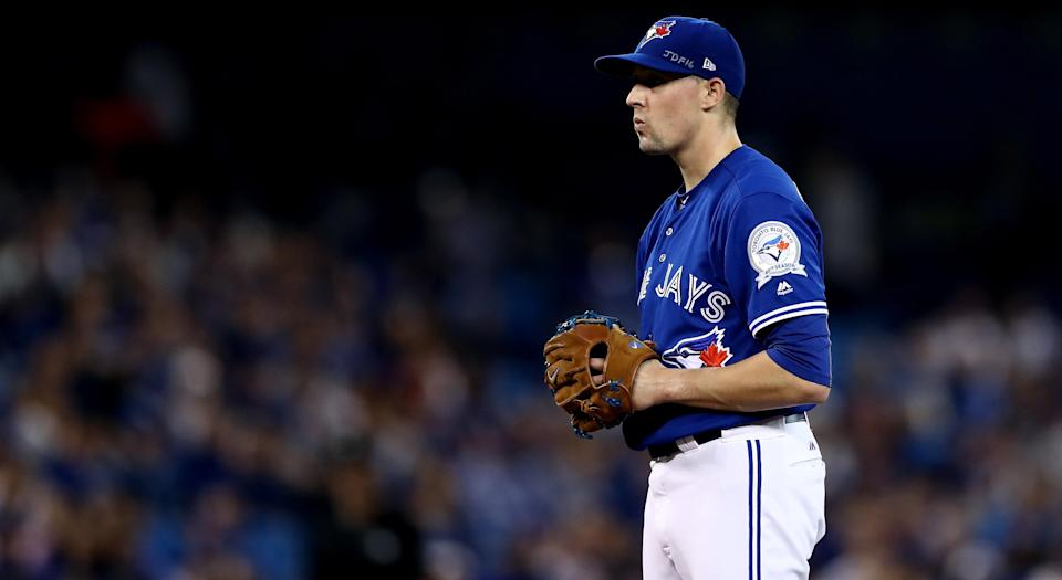 Aaron Sanchez shared one thing that people don't know about him. (Photo by Elsa/Getty Images)