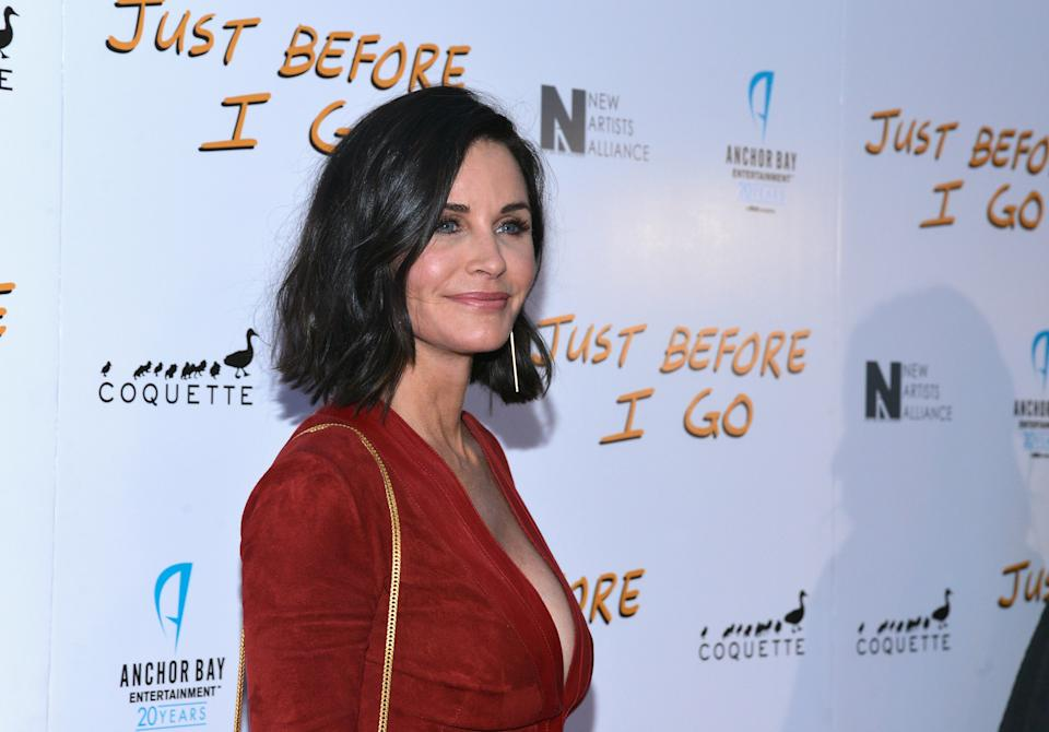 HOLLYWOOD, CA - APRIL 20:  Director Courteney Cox attends a screening of Anchor Bay Entertainment's film