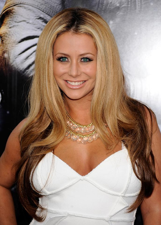 "Aubrey O'Day at the Los Angeles premiere of <a href=""http://movies.yahoo.com/movie/1809993532/info"">G.I. Joe: The Rise of Cobra</a> - 08/06/2009"