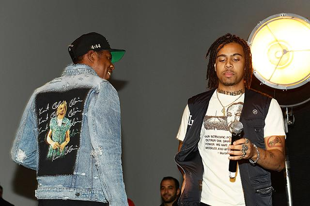 Jay Z Popped Up at Vic Mensa's Album Listening and Gave Him a Glowing Endorsement