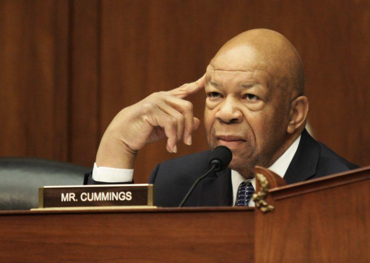 Rep. Elijah Cummings, D-Md., ranking member on the House Committee on Oversight and Government Reform. (Photo: Lauren Victoria Burke/AP)
