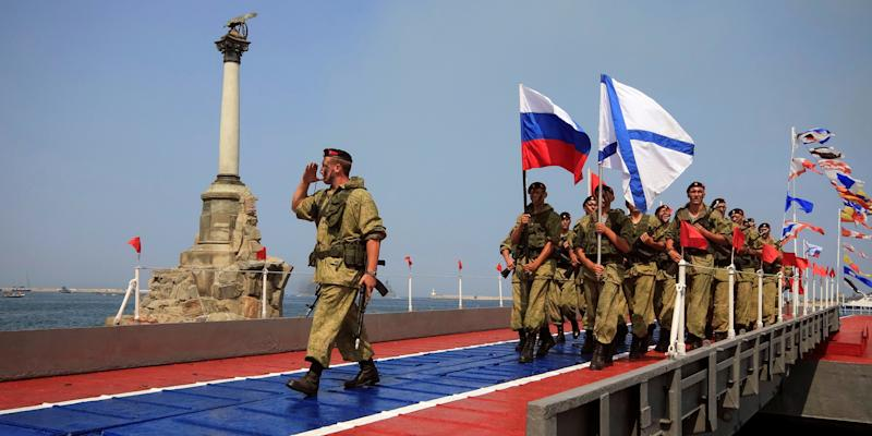russian troops crimea