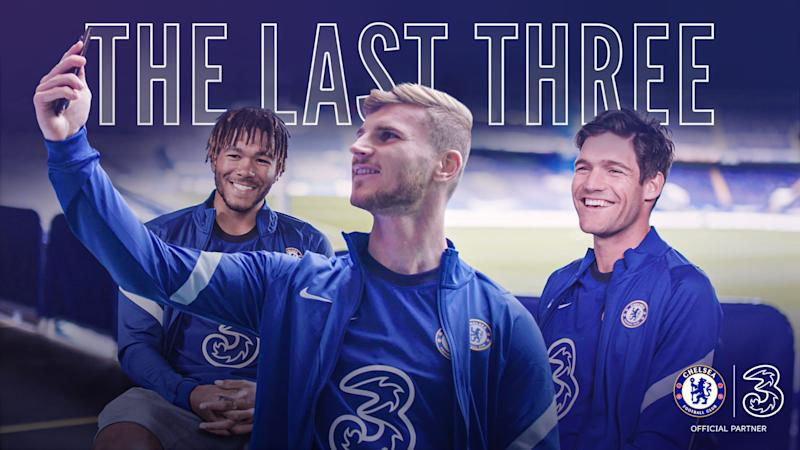 The Last Three with Chelsea FC