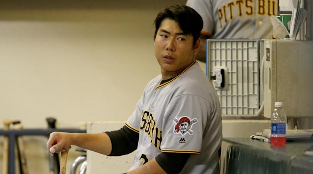 Pirates infielder Jung Ho Kang has been cleared to return to MLB after work visa problems. (AP)
