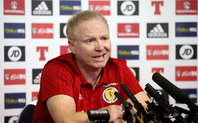 "Scotland's single encounter with Costa Rica – who visit Hampden Park tomorrow night as part of their World Cup warm-up schedule – left scar tissue on those Scots who were part of the occasion, as players, fans or media observers. When the countries met in Genoa at the group stage of Italia '90 a perilous consensus had formed within the Scottish camp that Los Ticos would be the group makeweights and could therefore be marked down as a banker win for Andy Roxburgh and his players. A full peal of alarm bells should have rung when it was put about that Luis Gabelo Canejo had been identified as that folkloric figure, the dodgy foreign keeper. Alex McLeish, who begins his second spell as Scotland manager tomorrow night – and who played in what turned out to be an ignominious 1-0 defeat in Genoa - still winces at the recollection of native folly. ""At the time I didn't think it was funny but I can see the humour in it now,"" he said. ""We were a bit anxious, uptight. It's that old one, when Scotland are expected to win the game. ""The psyche with the players was, 'we're meant to win here, we should be giving a big display and the goalie is hopeless, bombard him with crosses…' I think he took 17 out of 20. ""It was a typical day. The Costa Rica coach at the time used our press coverage - that we were hot favourites - against us. And we were usurped, unfortunately."" Now it is Scotland who would be seen as usurpers by a country that qualified for the World Cup finals four times since 1998 – and reached the quarter finals in Brazil four years ago – while the Tartan Army was compelled to watch from afar. The 20-year-long exile from major tournament finals has had an inevitably corrosive effect on Scottish enthusiasm. This match, played on an evening with many alternative entertainments at hand and against unfamiliar opponents, will likely attract an attendance of between 20,000 and 25,000, even though it will inaugurate McLeish's second tenure, with hope of fresh momentum after the disappointment of the Scots' narrow failure to reach the World Cup play-offs under Gordon Strachan. In such circumstances, the ambience of Hampden can be sapping. ""We want to give the fans who come to the game something back,"" McLeish said. ""We thank them for coming. We know that it's Friday night and Costa Rica are not the number one team in the world, but it's a team that has qualified for the World Cup Finals. They are ahead of us in the Fifa rankings. ""If we beat them then we start to get up the rankings a wee bit. That's important - it's important to win. It's also very important that I see these players can handle this well. ""A lot of them have already been at this level, but there will be an introduction of younger players and my message to them is 'go for it.' The gauntlet is down."" As ever, though, Scotland are short of firepower. Of the three forwards who have made international appearances – Ryan Christie, Jason Cummings and Matt Phillips – none has scored. The other, Oliver McBurnie of Swansea, on loan to Barnsley – is on his first call-up, although he notched three goals in 14 appearances at under-19 and under-21 levels. ""We have Oli McBurnie, who is a big unit,"" McLeish said. ""He's good at taking the ball in and Jason has his different skills. If we can create the right environment for these guys they can score for Scotland. ""McBurnie is wiry enough to help the team. Jason can be a bit of a maverick. He's young and he has that wee bit of gallusness you would want to have in every single player. ""I'd have no fear over starting either. Maybe we will do something else, because we have looked at one or two other situations in training with players who are versatile. We can't rule that out."" McLeish has not observed the convention, employed to hike up the attendance at such low-key friendly fixtures, of hinting or specifying his line-up, other than confirming that Charlie Mulgrew will be captain. It can be assumed, given the efforts made to secure his services for Scotland rather than England, that Scott McTominay of Manchester United, will start. McLeish did, though, indicate that, over the course of this match and Tuesday's meeting with Hungary in Budapest, all of the uncapped players in this squad could play at some stage. ""There could be ten new caps in the two games,"" he said. ""There could be three or four playing in this one but we will try to pick a team to beat Costa Rica. ""They scored a lot of late goals in their qualifying campaign and they have good players and strength. They are a tall team and we have to stifle that, but they also have that ability, like all teams from that part of the world, to control a ball and use it well. ""That's why they have dumped the USA out and held their own against Mexico, and deservedly qualified for the World Cup."" It might be asking too much of a transitional squad to beat Los Ticos, but an extension of last year's unbeaten run under Strachan would keep Scottish hopes of a new dawn ticking over."