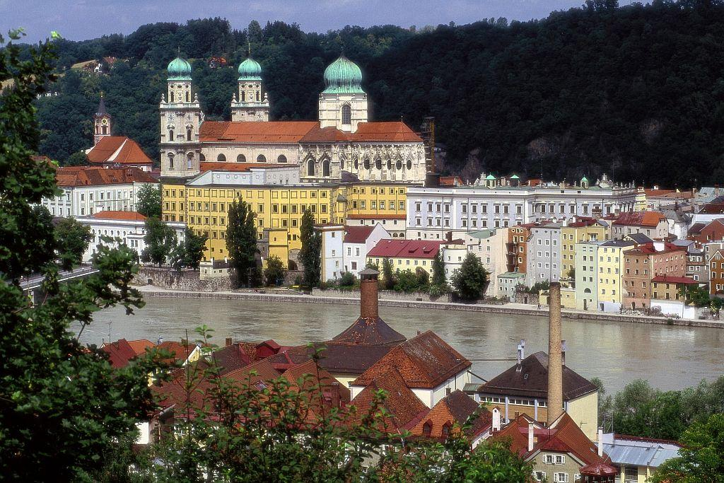 Cathedral of The Holy Stephan in Passau, Germany.